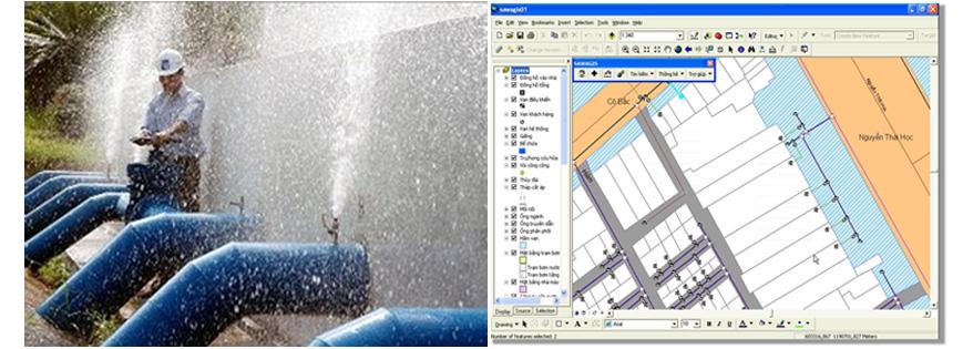 Phần mềm quản lý mạng lưới cấp nước